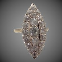 14k Gold 1930's Spinel Ring