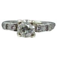 1930's Platinum & Diamond Ring