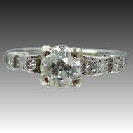 1930's Platinum & Diamond Ring