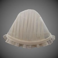 Mint Condition Victorian Pleated Nurse's Cap Nursing