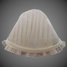 Mint Condition Victorian Pleated Nurse's Cap Nursing