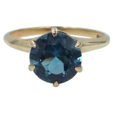 Victorian 10k Gold Spinel Ring