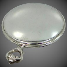 Nice Empire Sterling Pocket Mirror