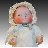 """15"""" German Grace Putman Bye-Lo Bisque Head Germany Composition Body Baby Doll"""