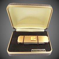 10k Gold RCA Emblem Service Award Gold Fld. Pocket Knife MIB