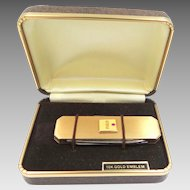 10k Gold RCA Emblem Service Award Gold Fld. Pocket Knife MIB