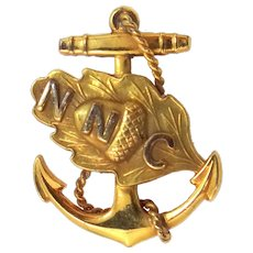 WWII Navy Nurse Corps Pin NNC