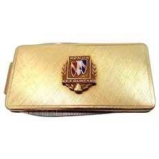 10k Gold Buick Automobile Honor Accountant Service Knife / Money Clip