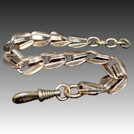 French Rose Gold Filled Watch Chain Bracelet