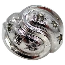 ESPO Art Deco Sterling Silver Ring