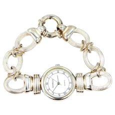 Nice Sterling Silver Lady's Bracelet Watch