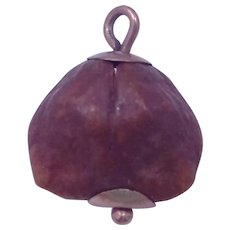 Victorian 14k Gold Nut Charm