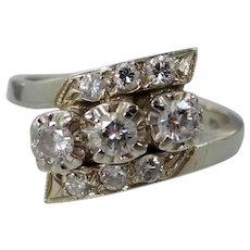 Bluite 14k Gold & Diamonds Lady's Ring