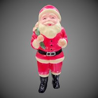 Vintage Japan Celluloid Santa Figurine