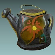 Wood and Bakelite Watering Can Pin Book Piece