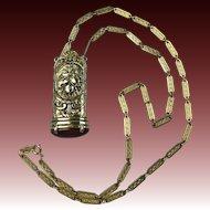 Amazing Signed ACCESSOCRAFT Pendant Necklace