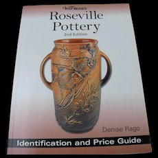 Roseville Pottery Identification and Price Guide by Warman's (2nd Edition) - Red Tag Sale Item