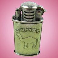 Signed CAMEL Cigarette Lighter with Box