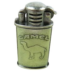 Signed CAMEL Cigarette Lighter with Box