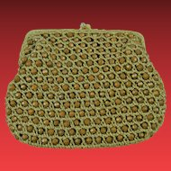 """Marked """"Delill Hand Made in Italy"""" Beaded Purse"""