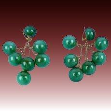 Amazing Glass Sphere Earrings