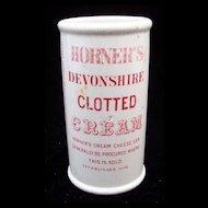 Red Antique Victorian Clotted Cream Pot ~ 1880