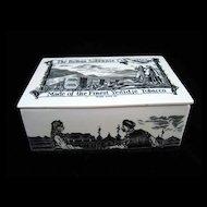 Rare Ceramic Sobranie TOBACCO Box ~ 1880