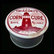 English Victorian Quack Medicine ~ CORN CURE Ointment ~ 1880