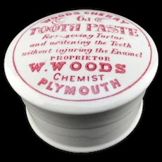 "English ""Quack Medicine"" CHERRY Tooth Paste ~ 1890"