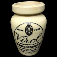 Virol Quack Medicine ~ Children / Invalid Food ~ 1880
