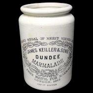Early 20th Century Stoneware Marmalade Paste Pot