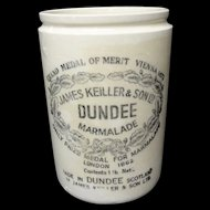 Early 20th Century Stoneware Marmalade Paste Pot