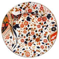 Imari Flow Blue Christopher DRESSER Cookie Plate 1885