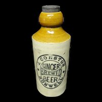Ginger Beer Stoneware ~ Corston Brewery ~ c. 1900