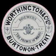 Victorian Brewers Tea Stand Growler Coaster 1890
