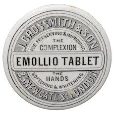 Quack Medicine ~ Complexion Ointment Tablet Pot ~ 1880