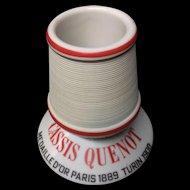 c 1900 ~ French Victorian Cassis Wine ~ Match Strike