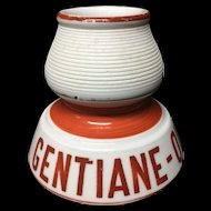c 1900 ~ French Victorian Wine ~ Match Strike