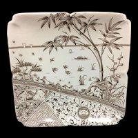 Brown Aesthetic Master Cake Plate ~ RABBIT & RAVEN 1881