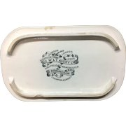 English Ironstone AVERY Meat Cheesemonger Dairy Shop Display Stand c1890