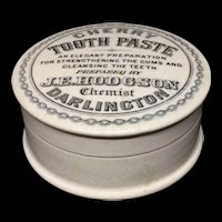1890 ~ English Quack Medicine CHERRY Tooth Paste ~ 1890