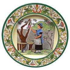 1896 ~ Wedgwood Month Plate ~ September 1896 Helen Miles