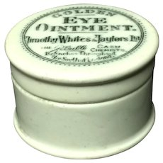 Golden Eye Ointment Quack Medicine ~ Eye Disease ~ 1880