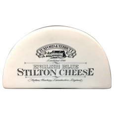 English Ironstone Stilton Cheese Shop Display Stand