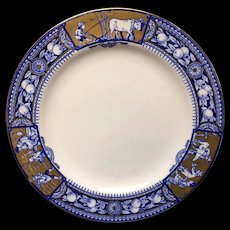 Tiffany & Co NY Country Life Brownfield Plate ~ 1883
