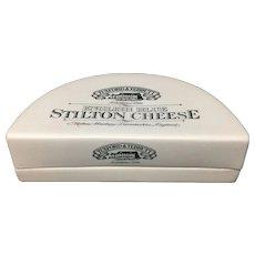 English Ironstone Stilton Cheese Shop Display Stand
