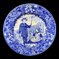 1898 ~ Wedgwood Months Plate ~ JUNE ~ Make Hay