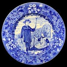 1898 ~ Wedgwood Months Plate ~ JUNE ~ Make Hay