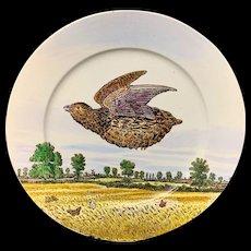 Philadelphia Centennial Exhibition 1876 Edward Kennard Plate Partridge