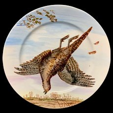 Philadelphia Centennial Exhibition 1876 Edward Kennard Plate Acrobatic